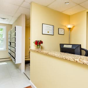 Office Interior Corridor at Weston Orthodontics in Weston MA